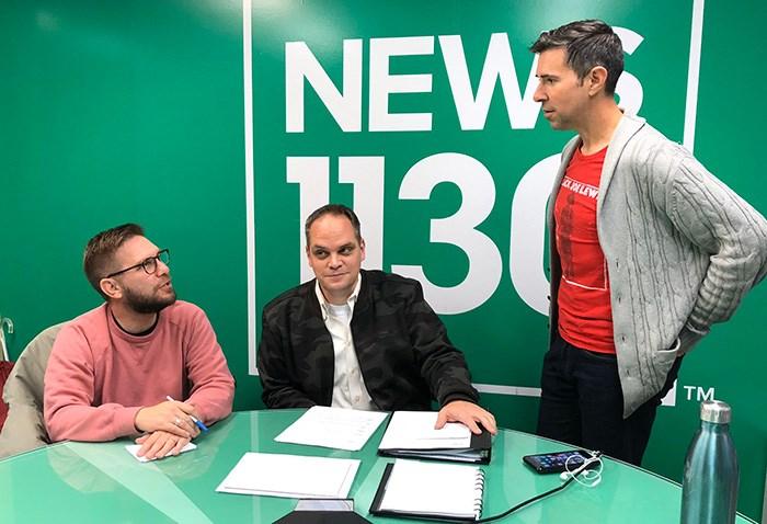 Listen to Bob Kronbauer (V.I.A.), John Ackermann (News 1130) and James Cybulski (Sportsnet 650) on election night on News 1130 starting at 7pm