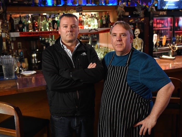 Ouisi Bistro owner Rob Clarke and chef Darcy Fry will close up shop Oct. 26 after 25 years in business. Photo by Dan Toulgoet