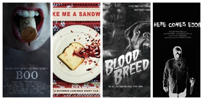 Short films at the 2019 Vancouver Horror Show Film Festival. Photos: VHS