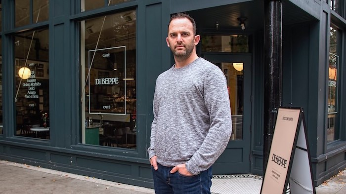 Chuck McIntosh, owner of a string of restaurants that includes Di Beppe Caffe and Ristorante, says lease rates are key to where he locates his businesses. Photo by Chung Chow/Business In Vancouver