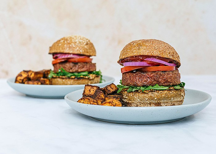 Beyond Meat Burgers made at home, photo: Fresh Prep Facebook