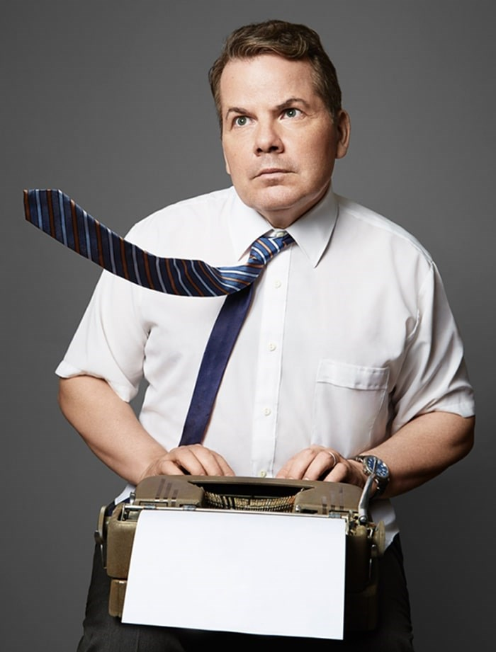 Bruce McCulloch is bringing his one-man show Tales of Bravery and Stupidity to the Shadbolt Centre for the Arts Nov. 8.