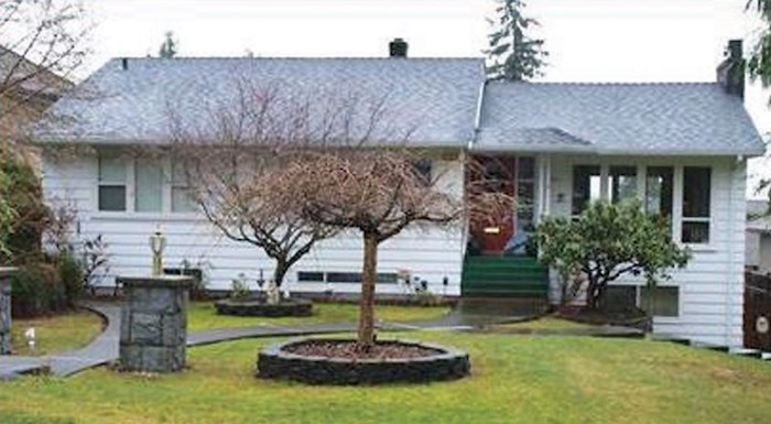 A lawyer for an 89-year-old West Vancouver widow has successfully argued that she be allowed to stay in her home at 1124 Haywood Ave. while the a court case about the mortgage is argued in court. Photo: BC Assessment