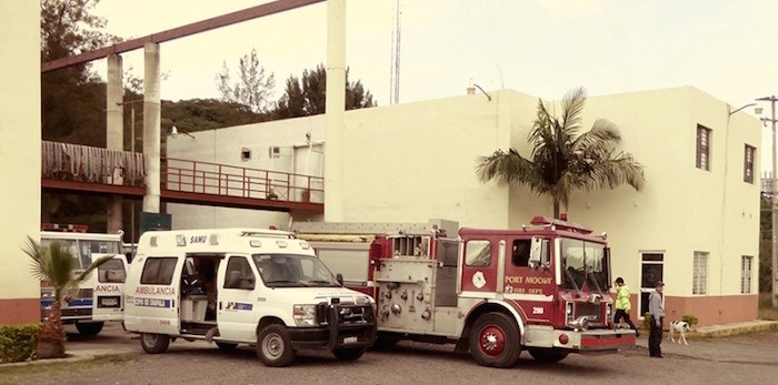 Spotted in Mexico: A Port Moody fire truck, enjoying a working retirement. Photo submitted