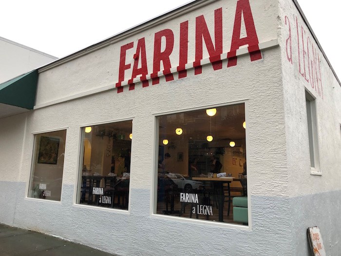 Farina a Legna, a North Shore outpost of Vancouver's popular Pizzeria Farina, is dishing up beautiful pizza and pasta and more in Lower Lonsdale. Photo by Lindsay William-Ross/Vancouver Is Awesome
