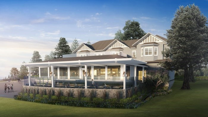 Dundarave's Beach House restaurant in West Vancouver is set to re-open after a lengthy renovation on Nov. 22, 2019. Rendering courtesy Beach House