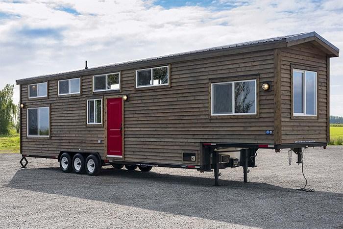 A towable tiny home RV. Photo Mint Tiny House