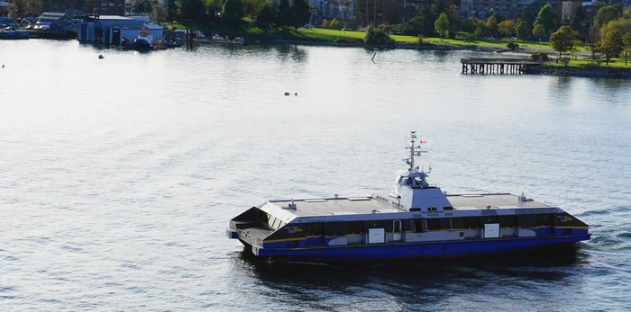 The SeaBus will remain on a reduced sailing schedule Tuesday due to the transit strike. Photo by lenic / Shutterstock.com