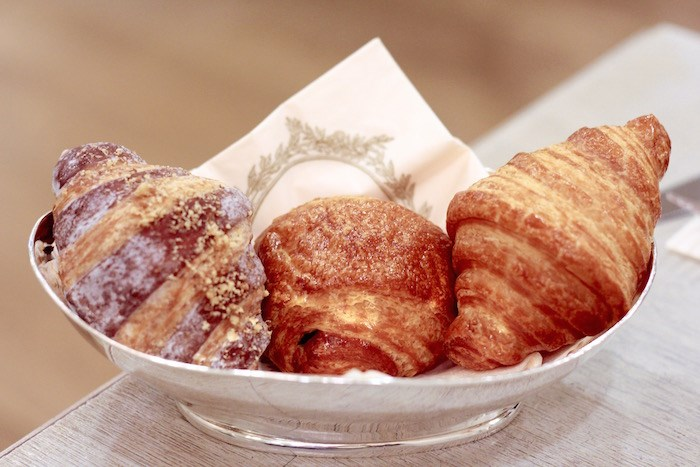 A trio of mini Viennoiseries at Ladurée. Photo by Lindsay William-Ross/Vancouver Is Awesome