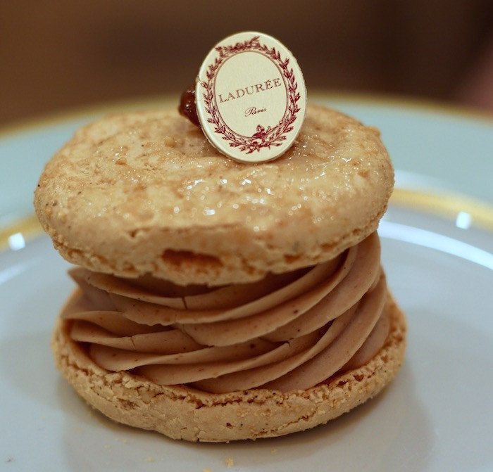 Pear Caramel Gourmet Macaron. Photo by Lindsay William-Ross/Vancouver Is Awesome