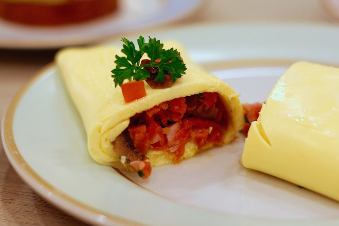 Inside the Ladurée Omelette. Photo by Lindsay William-Ross/vancouver Is Awesome