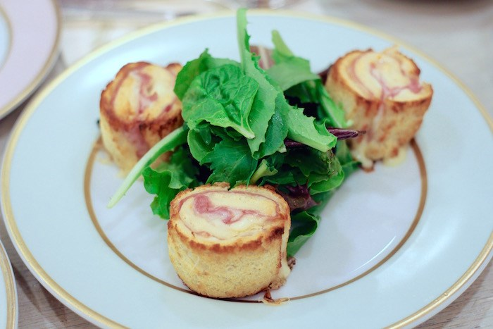 Croque Monsieur with ham. Photo by Lindsay William-Ross/vancouver Is Awesome
