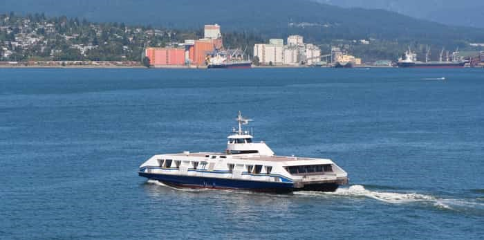 Photo: Seabus between Downtown Vancouver and North Vancouver