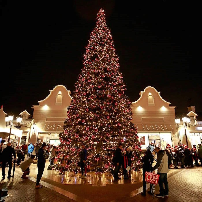 The 52-foot Christmas tree will be lit by Santa Claus himself. Photo: M