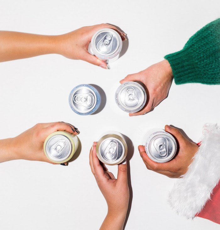 You can pre-game for Christmas with Nude's first advent calendar. Photo courtesy Nude Beverages