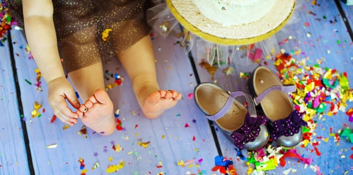 The Shindiggy Dance Party will wrap up all the family fun in time for parents to binge watch their favourite show after bedtime. Photo: Party feet/Shutterstock