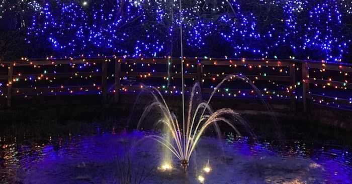 Can you count all three million lights?