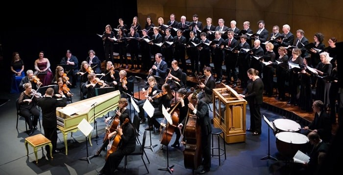 The Pacific Baroque Orchestra and the Vancouver Cantata Singers perform Handel's Messiah Nov. 30 at the Chan Centre.