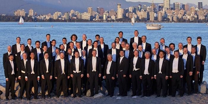 The Chor Leoni men's choir perform their Angels Dance program Dec. 21 at the Orpheum.