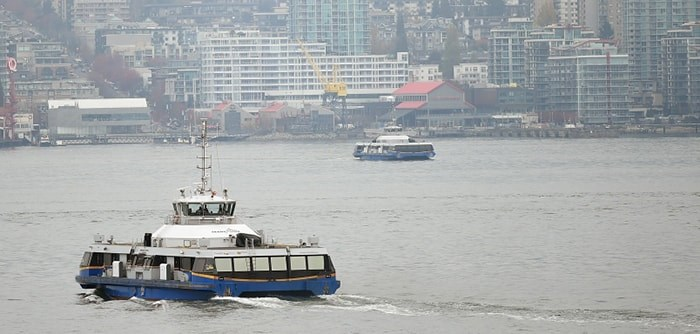 Commuters who rely on the SeaBus should take note of just-added cancellations for the evening of Mon. Nov. 18. File photo Dan Toulgoet