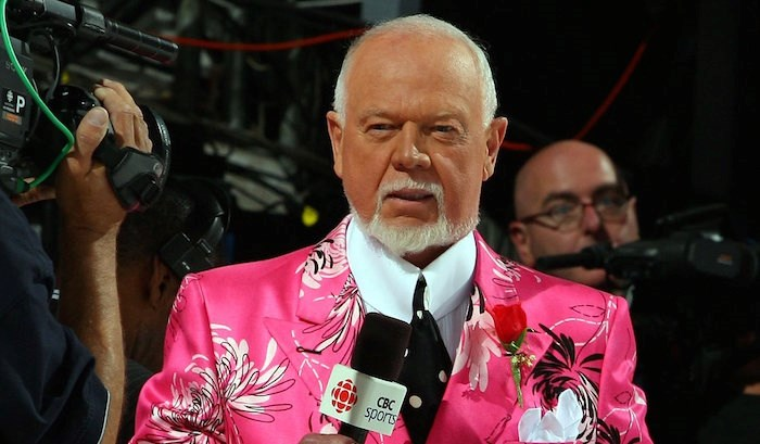 Long-time hockey commenter Don Cherry. Photo: Hockey Night in Canada/Facebook