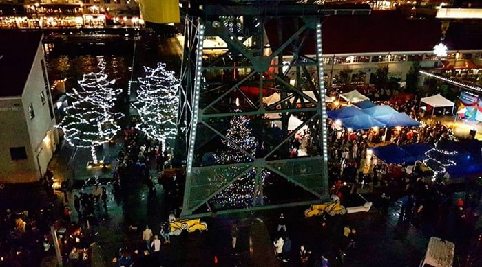 The Shipyards will be transformed into a winter wonderland later this month for the City of North Vancouver's annual Christmas Festival. Photo: @suvendraaa /Instagram