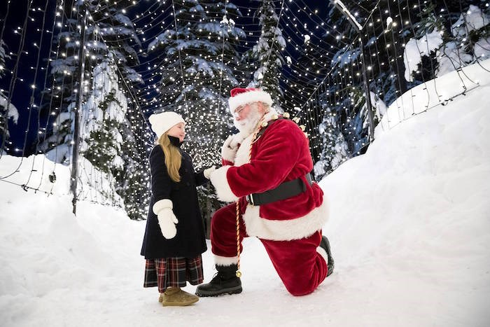 The Peak of Christmas takes place at Grouse Mountain Resort from Nov. 22, 2019-Jan. 5, 2020. Photo: