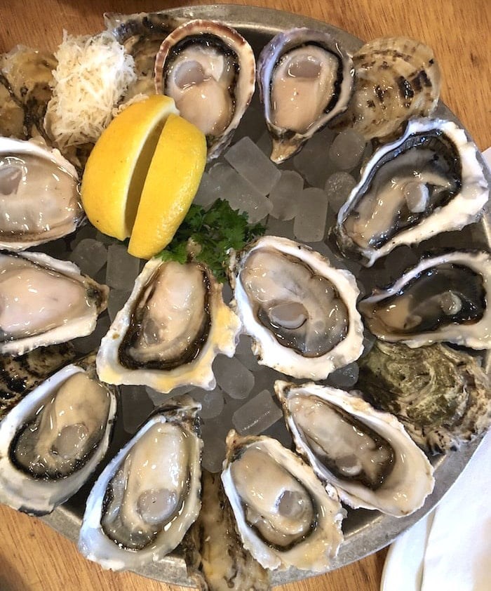 Aw, shucks. Happy Hour is awesome at Oyster Express. Photo by Lindsay William-Ross/Vancouver Is Awesome