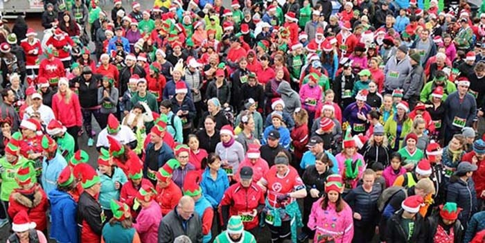 The Salvation Army's 29th annual Santa Shuffle is just around the corner. Photo: Salvation Army