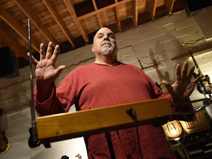 Stephen Hamm has played in a lot of Vancouver bands over the years, but his latest pursuit is a one-man band showcasing his chops on the misunderstood theremin. Photo Dan Toulgoet