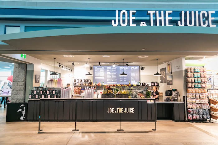 Joe & the Juice has opened their first Canadian location right here in Vancouver. Photo courtesy YVR