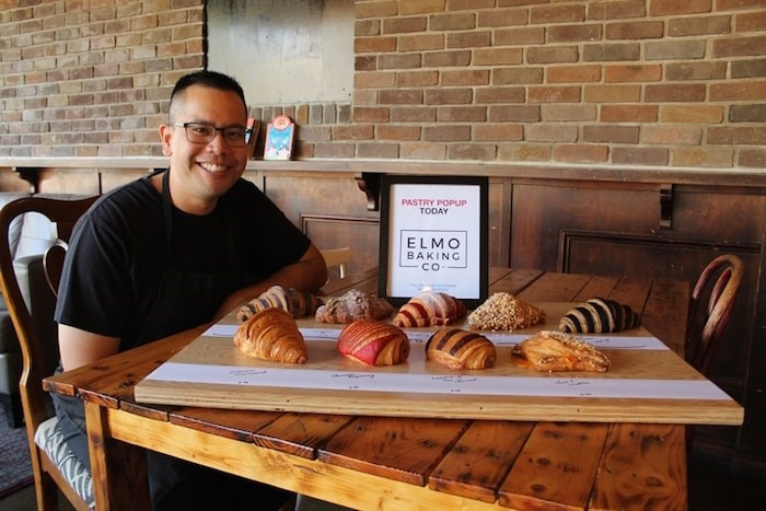Various croissants and baked pastries are available for order online at Elmo Baking Company. Photo by Valerie Leung/Richmond News