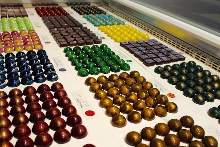 Beautiful chocolates at BETA5. Photo by Lindsay William-Ross/Vancouver Is Awesome