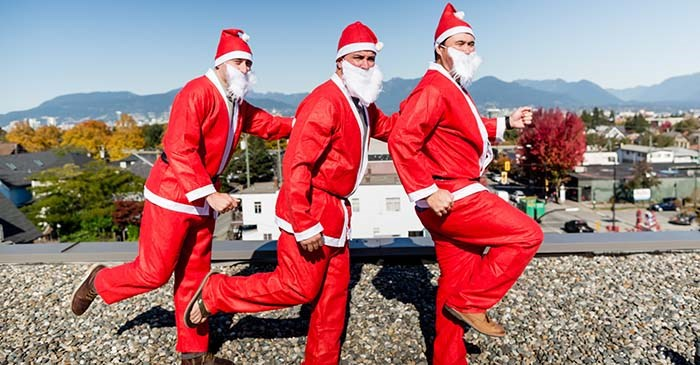 Registrations are now open for the inaugural Santa Run; a new holiday-themed 5km charity event to help raise much-needed funds to support young burns survivors. Photo: Burns Fund