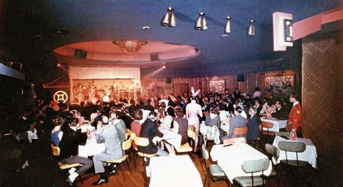 In 1966, Bill Haley and His Comets made a stop at the Marco Polo. Photo courtesy of Tom Carter Archives