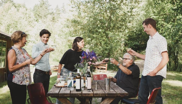 Two generations of one family are distilling some of B.C.'s best spirits on Vancouver Island. Photo courtesy Ampersand