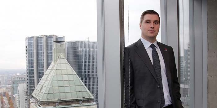 CBRE's managing director for Vancouver, Jason Kiselbach, believes that WeWork's Vancouver operations are successful|Rob Kruyt