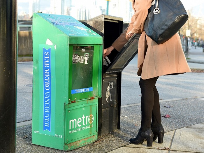 Torstar Corporation, the parent company of the Toronto Star and StarMetro banners, will cease publishing the print editions of StarMetro in Vancouver, Edmonton, Calgary, Toronto and Halifax as of Dec. 20. Photo Dan Toulgoet
