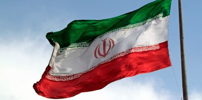 """Ottawa has warned anyone considering visiting Iran to exercise high caution """"due to crime, demonstrations, the regional threat of terrorism and the risk of arbitrary detention."""" Photo: Iranian flag/Shutterstock"""