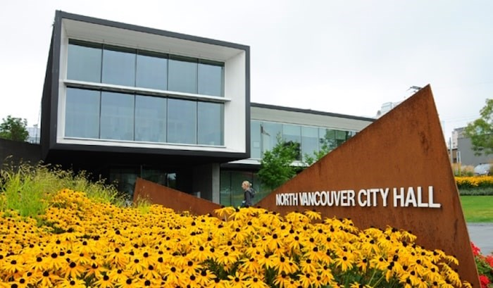 The City of North Vancouver may soon become a living wage employer, meaning a significant pay hike for the lowest-paid staff and contractors. Photo: North Vancouver City Hall. File photo/Cindy Goodman