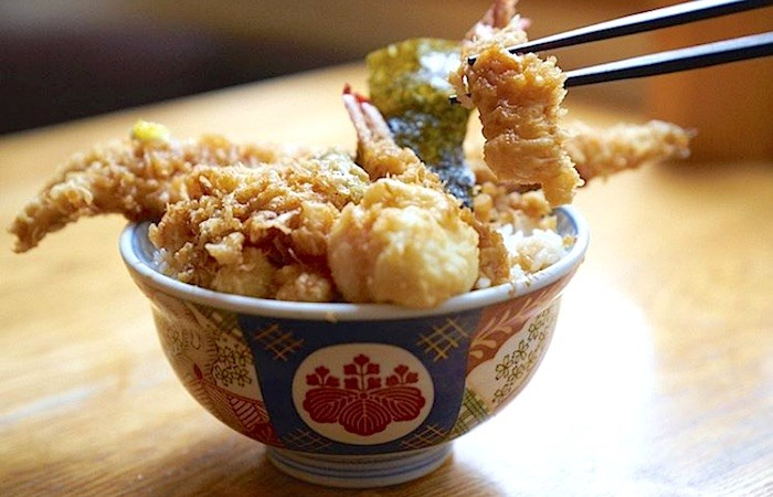 Tendon tempura is the specialty of Japan's Hannosuke, which is coming to Vancouver. Photo: