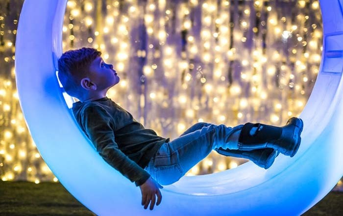 Vancouver's Christmas Glow opens to the public Thursday Nov. 21 at Harbour Convention Centre. Photo: Glow Gardens
