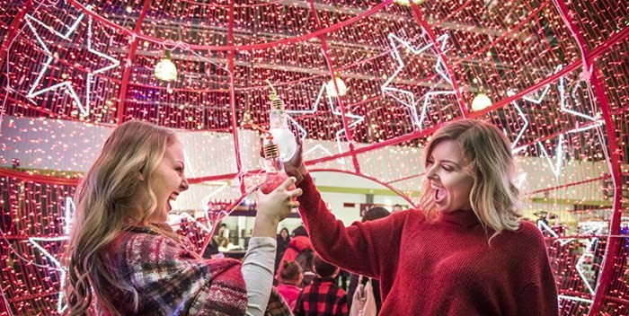 Vancouver's Christmas Glow garden opens to the public Thursday Nov. 21 at Harbour Convention Centre. Photo: Glow Gardens
