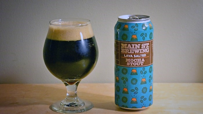 Lava Salted Mocha Stout by Main St. Brewing. Photo by Rob Mangelsdorf