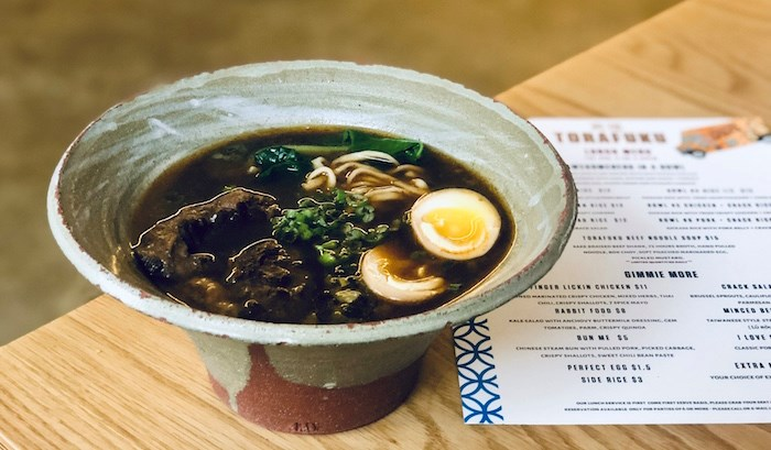 Taiwanese Beef Noodle Soup at Torafuku. Photo by Lindsay William-Ross/Vancouver Is Awesome