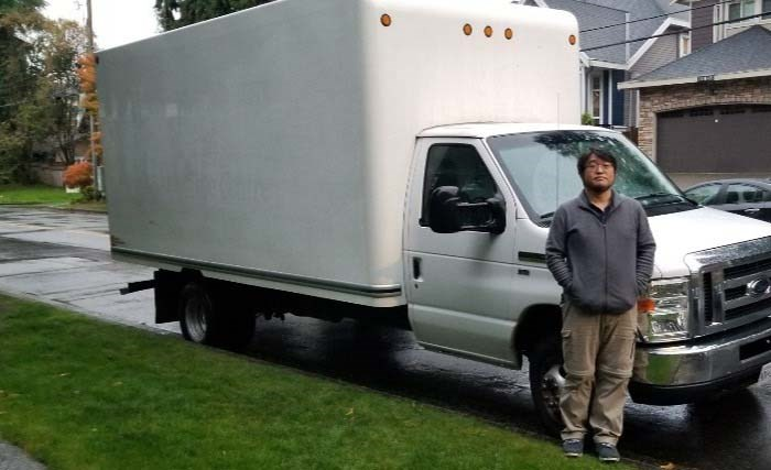 Caleb Kim, founder of Love One Another Mission Canada, wants to create a shower truck for Vancouver's homeless. Photo: L.O.A.M.C