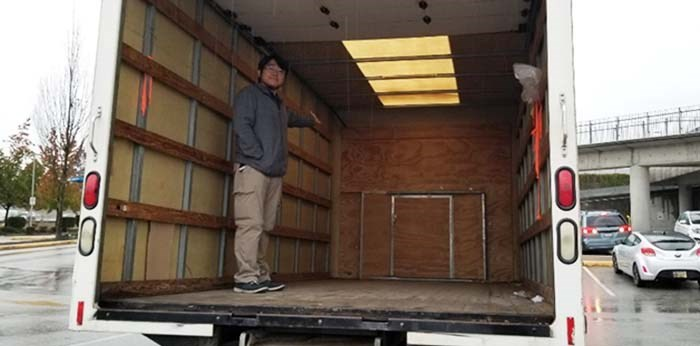 Caleb Kim, founder of Love One Another Mission Canada, wants to create a shower truck for Vancouver's homeless.