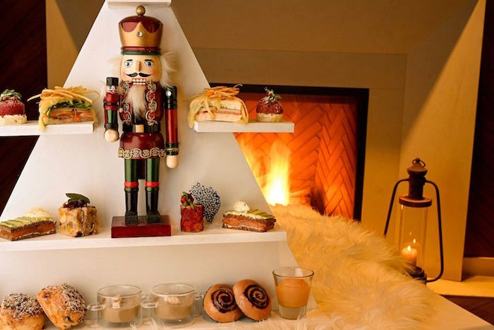 The Nutcracker Afternoon Tea at Notch8 at the Fairmont Hotel Vancouver runs through the end of the year. Photo courtesy Fairmont Hotel Vancouver