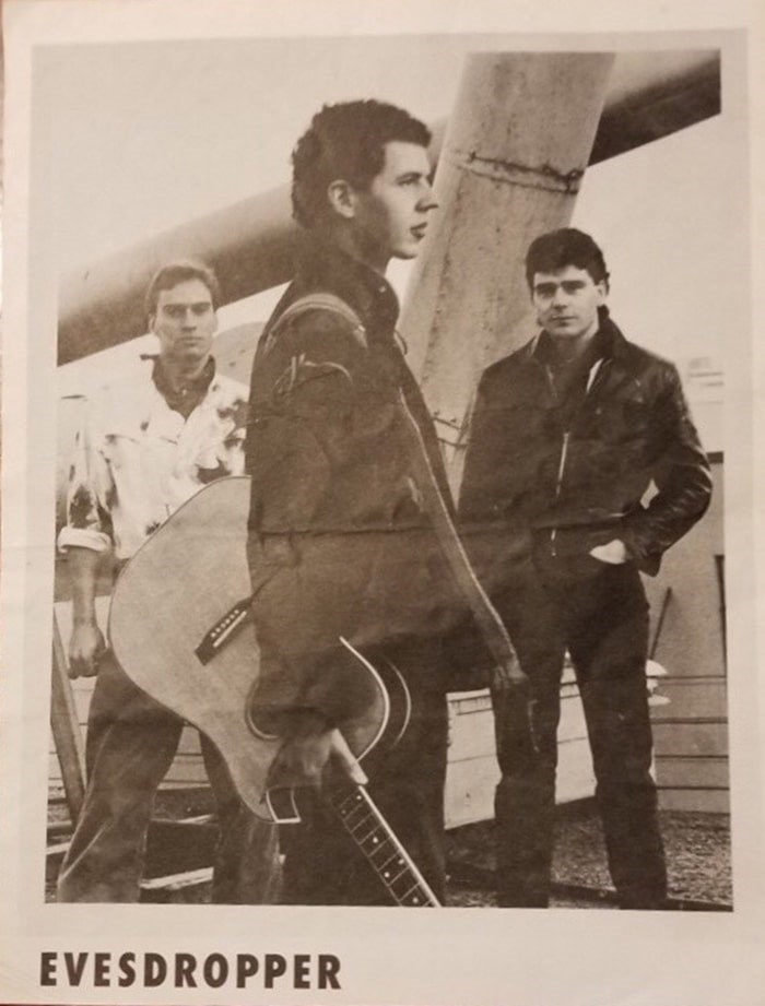 In the early 1980s, John Mann had formed an alt-folk band called Evesdropper with an Argyle Secondary grad from Lynn Valley named Geoffrey Kelly. Photo courtesy of Geoffrey Kelly