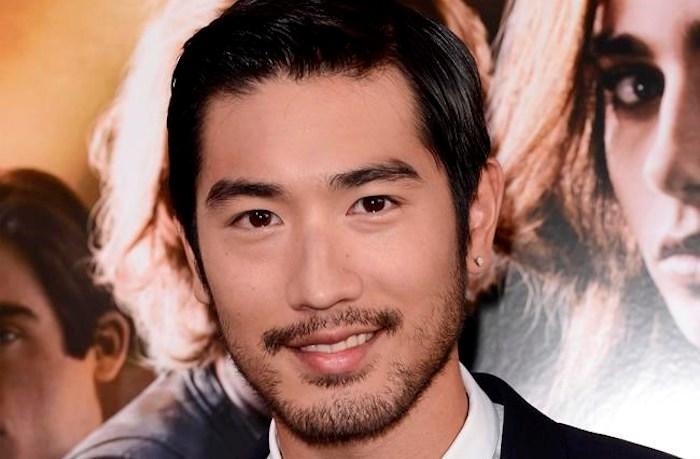 FILE - In this August 12, 2013, file photo, actor Godfrey Gao arrives at the world premiere of
